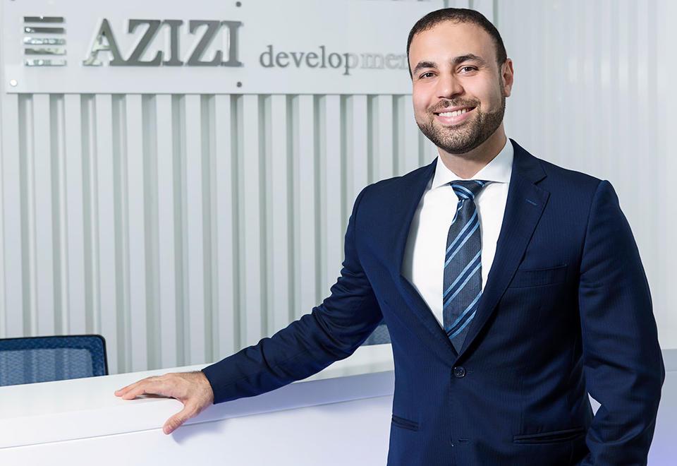 CEO of Azizi Developments, Farhad Azizi.